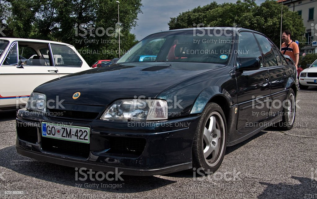 Opel Omega Lotus stock photo