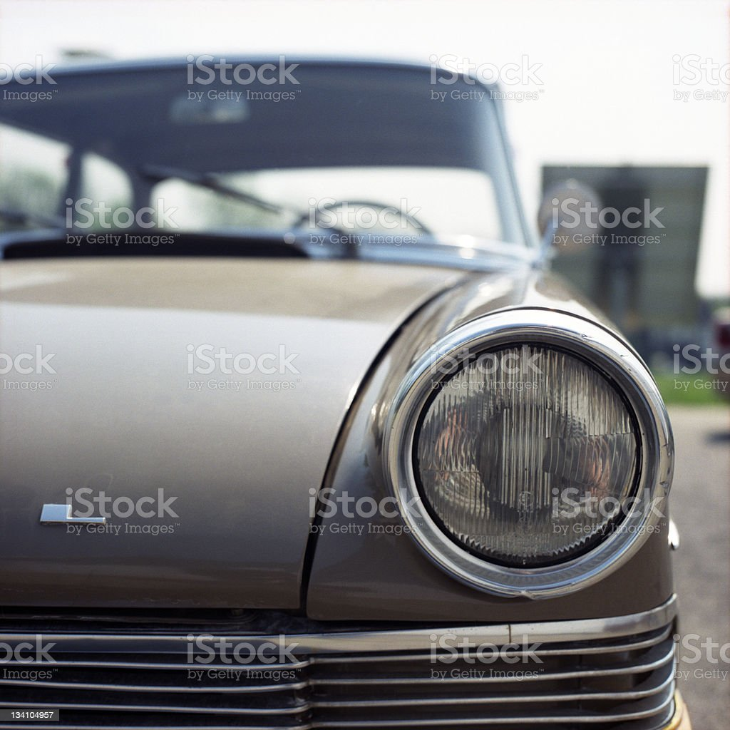 Opel Rekord A royalty-free stock photo