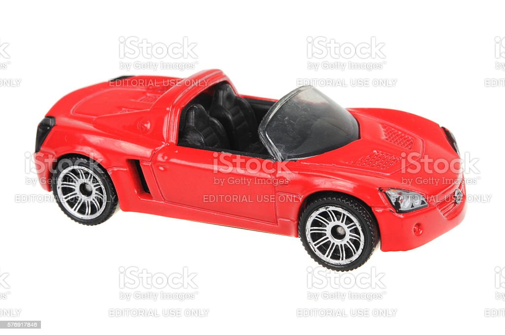 2002 Opel Speedster Matchbox Diecast Toy Car stock photo