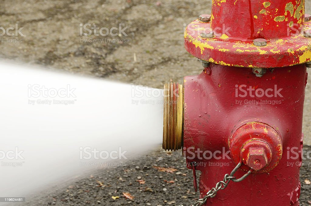 Open 5 inch royalty-free stock photo