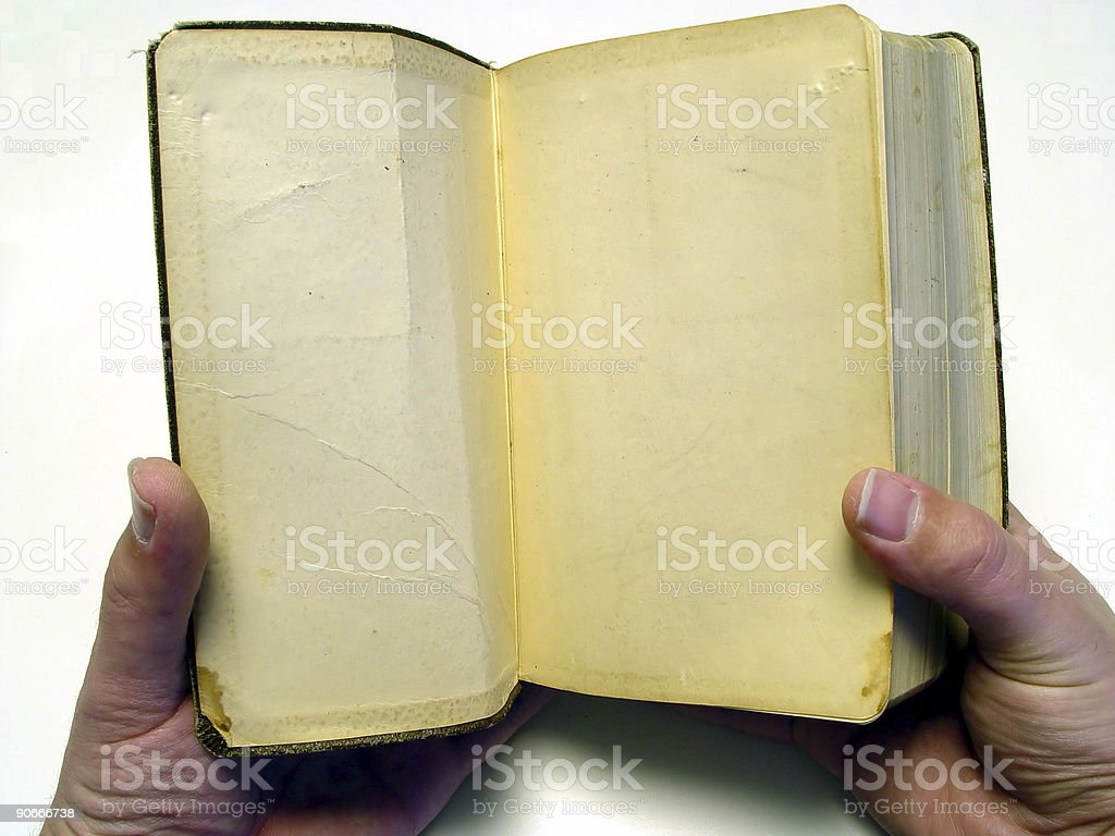 Open A Good Book stock photo