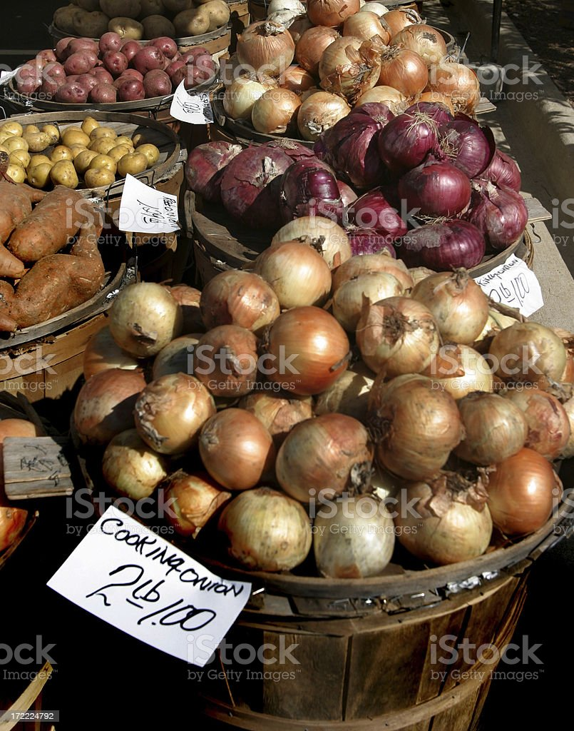 Open Air Vegetable Market royalty-free stock photo