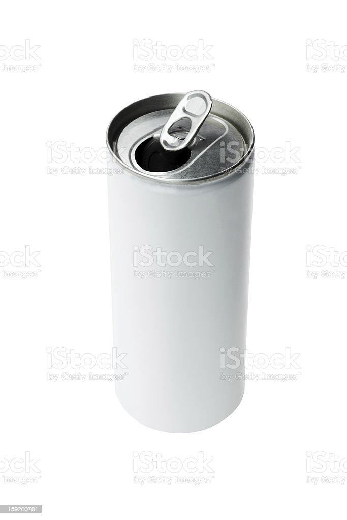 Open Aluminium Drink Can royalty-free stock photo