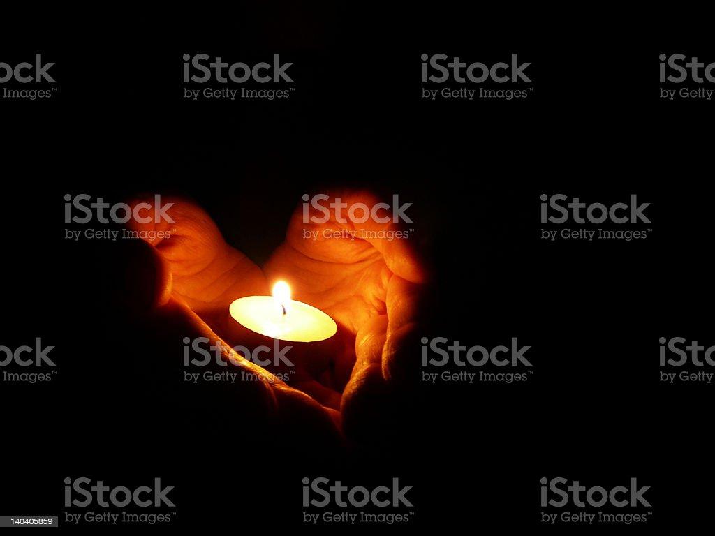 open ardent heart #1 stock photo