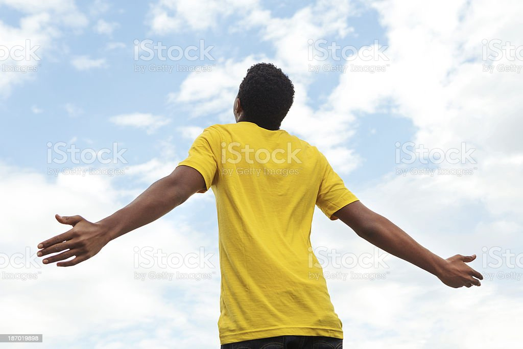 Open Arms royalty-free stock photo