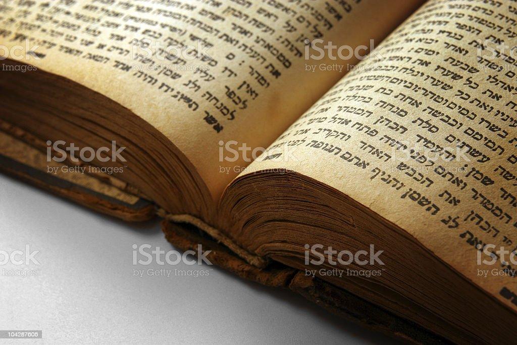 Open bible closeup royalty-free stock photo