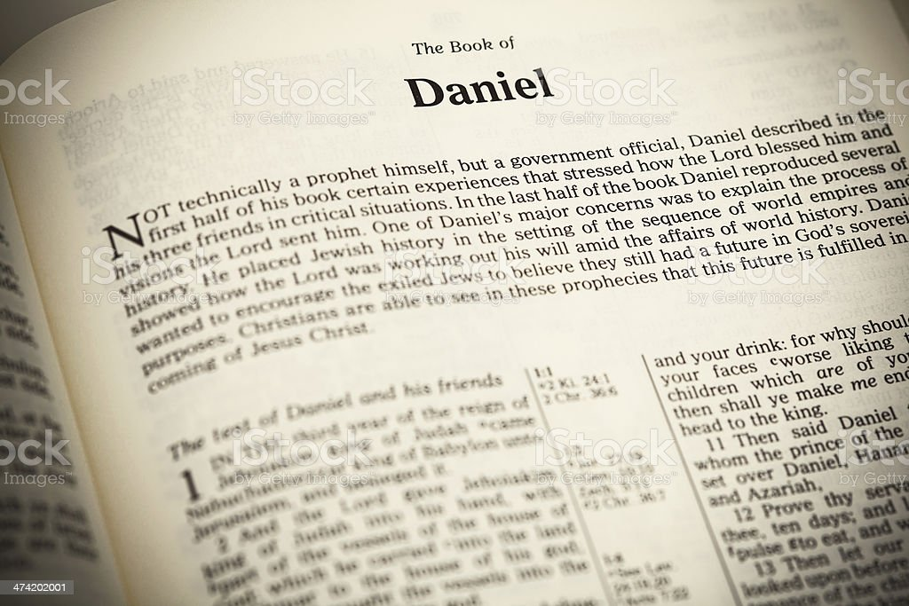 bible the book of daniel essay Book of daniel in the bible's old testament in five pages this paper presents chapter summaries and interpretations of the old testament's book of daniel three sources are cited in the bibliography.