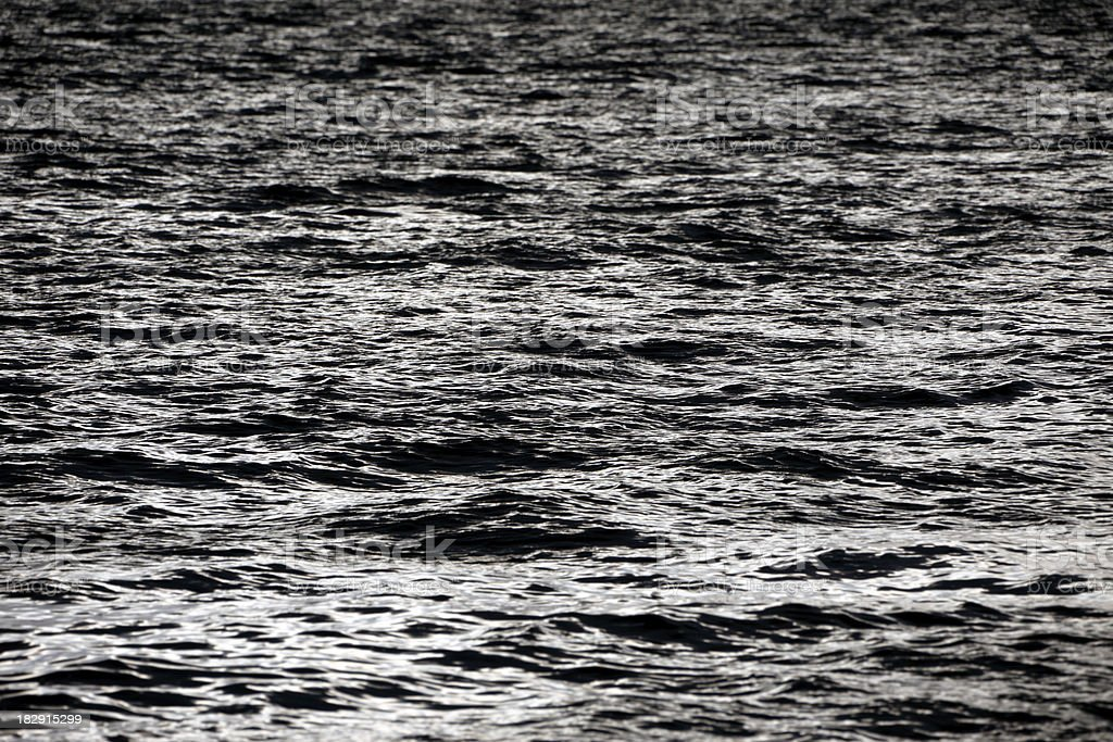 Open Black Sea Background royalty-free stock photo