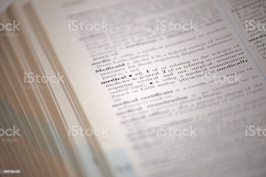 Open book for knowledge stock photo
