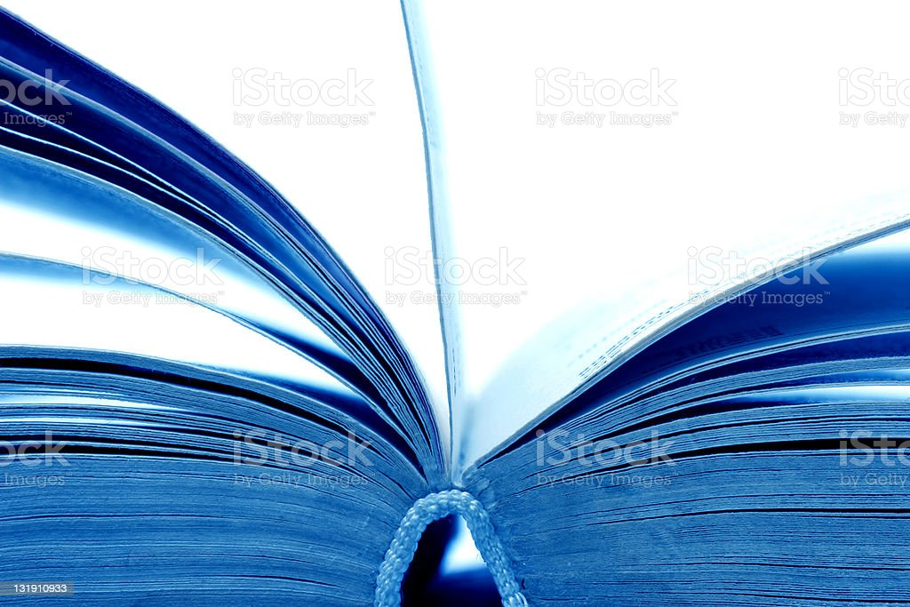 Open book pages royalty-free stock photo