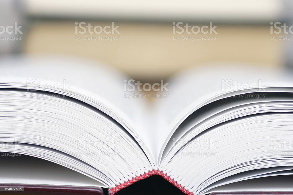 Open book royalty-free stock photo