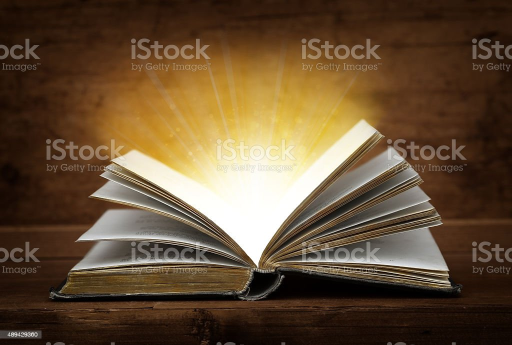 open book. stock photo