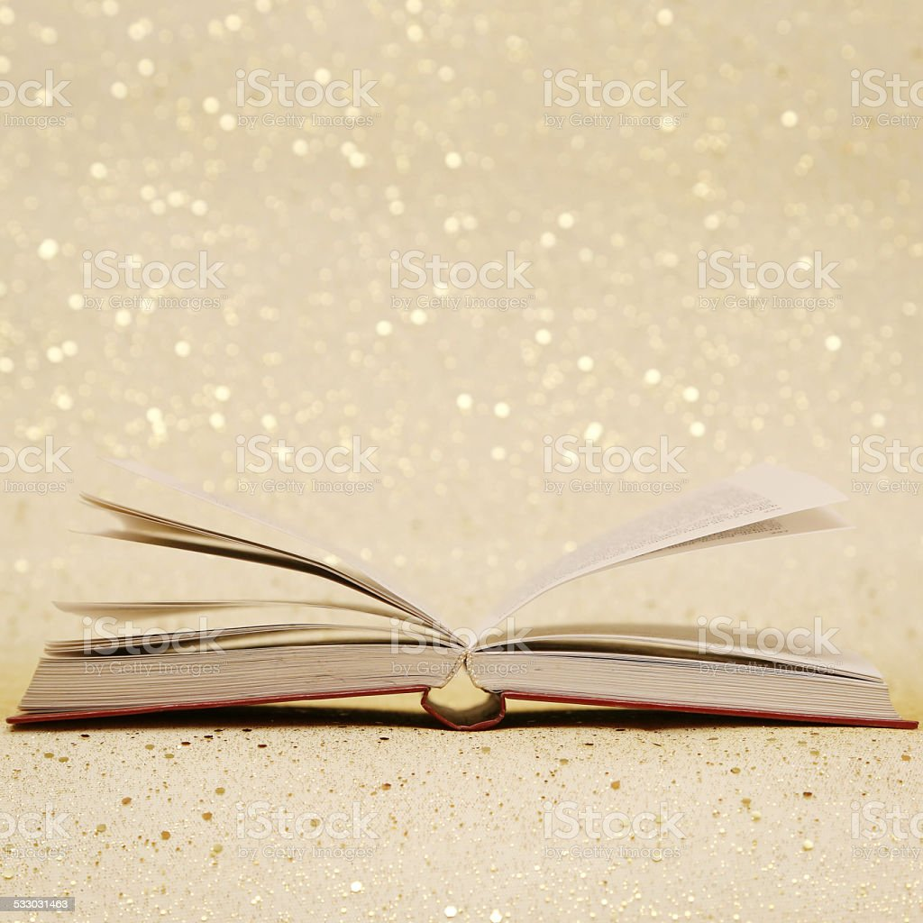 Open book stock photo