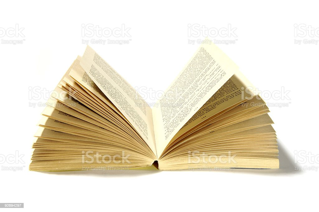 Open book stock photo