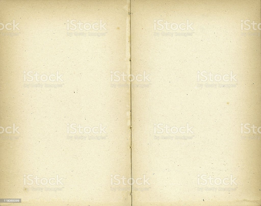 Open Book with darker edges royalty-free stock photo