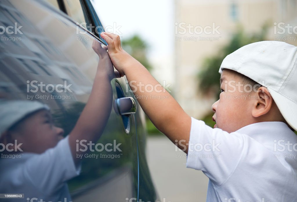 open car door royalty-free stock photo
