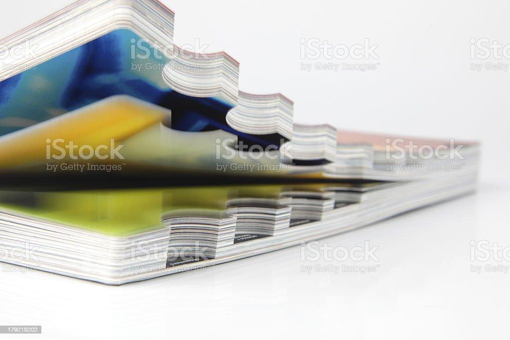 Open catalogue royalty-free stock photo
