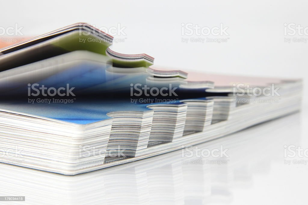 Open catalogue royalty-free stock photo