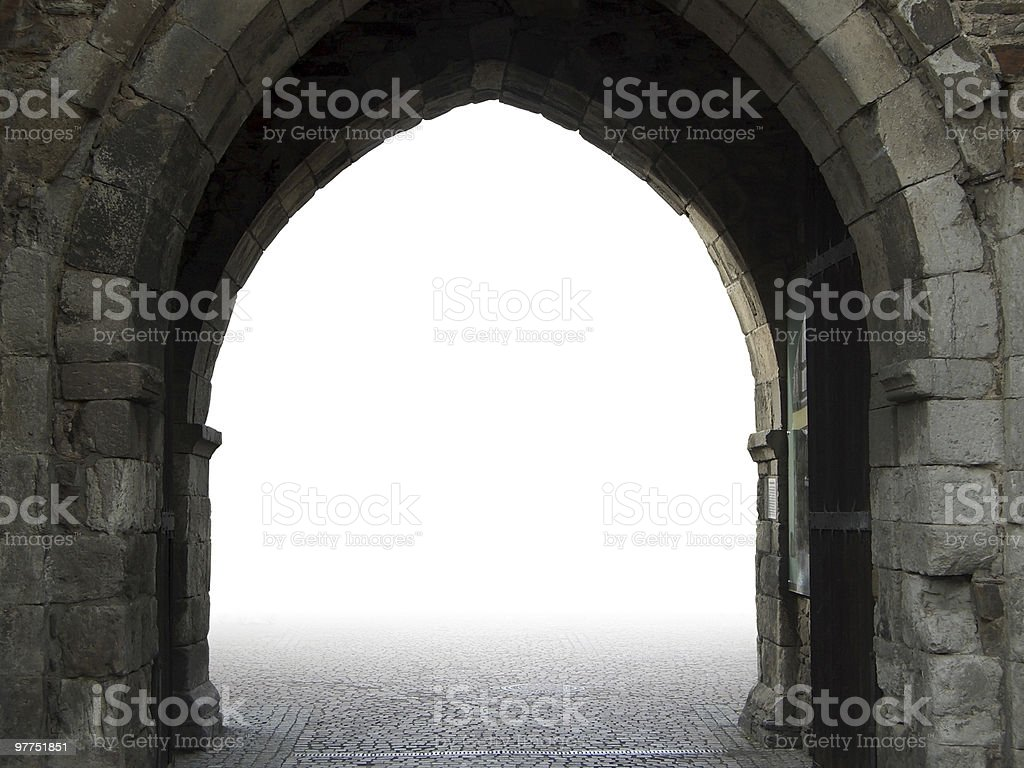 open city gate in Ahrweiler royalty-free stock photo