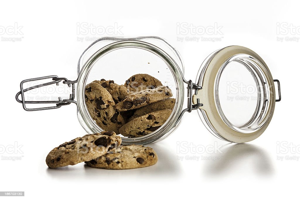 Open Cookie Jar royalty-free stock photo
