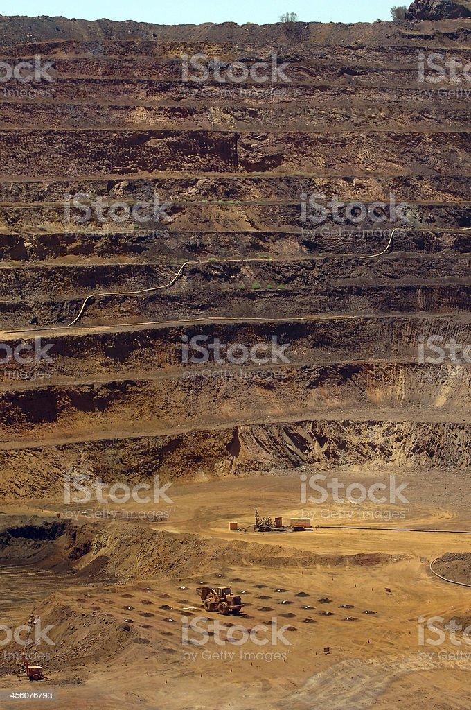 Open Cut Mine stock photo