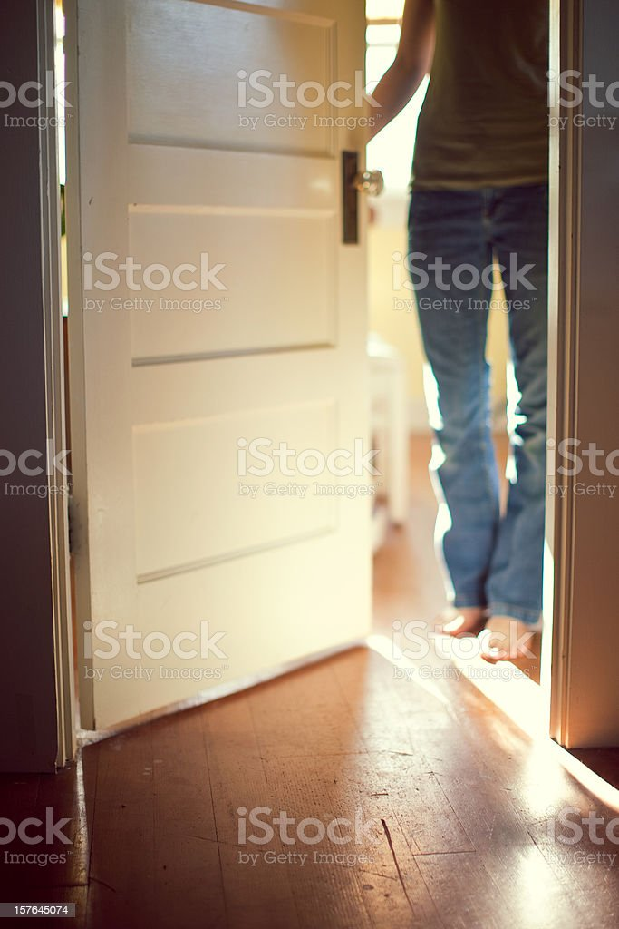 Open Door of Opportunity stock photo