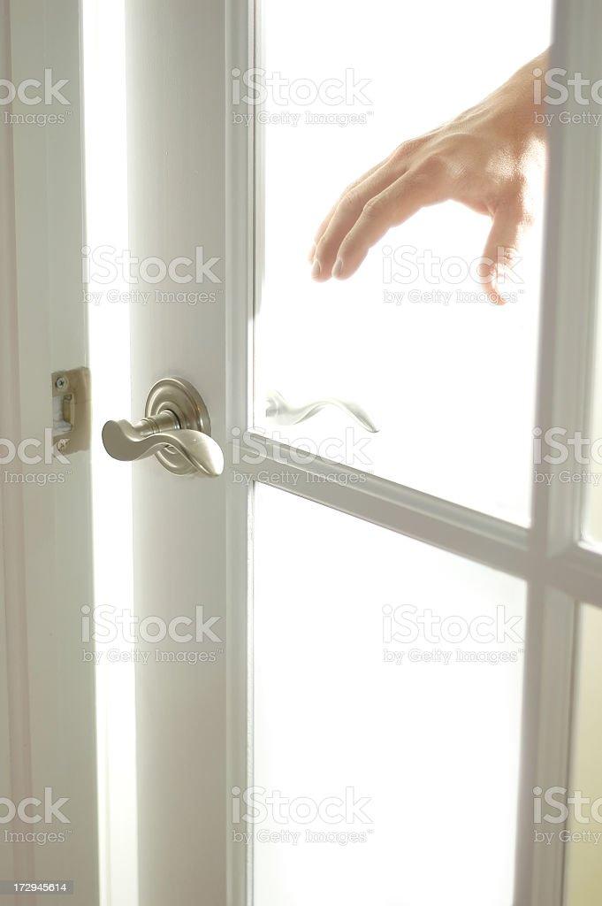 Open door opportunity royalty-free stock photo