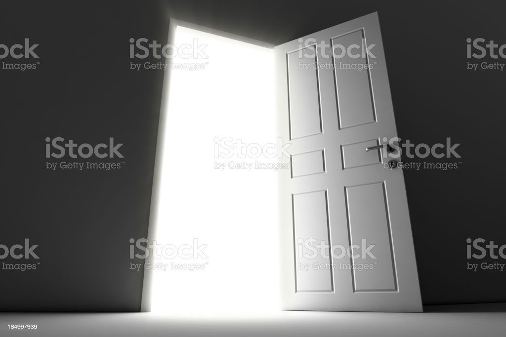 Open Door royalty-free stock photo