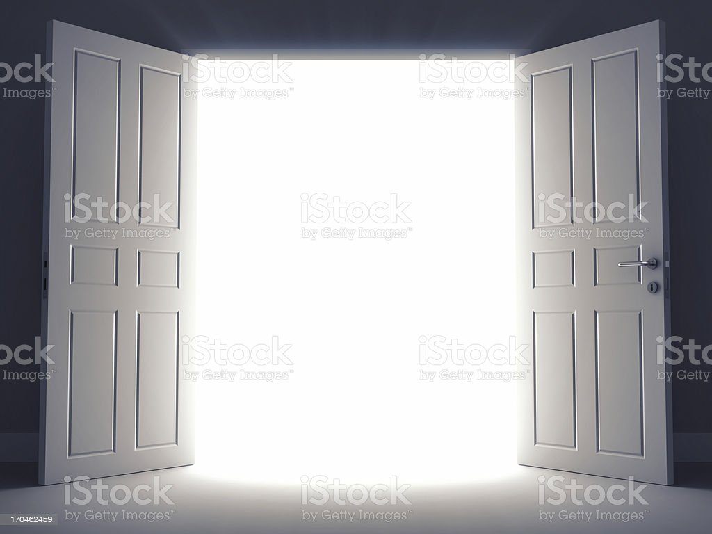Open Doors stock photo