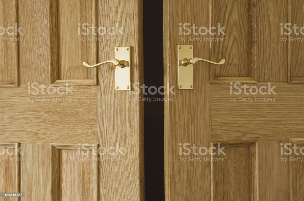 Open doors royalty-free stock photo
