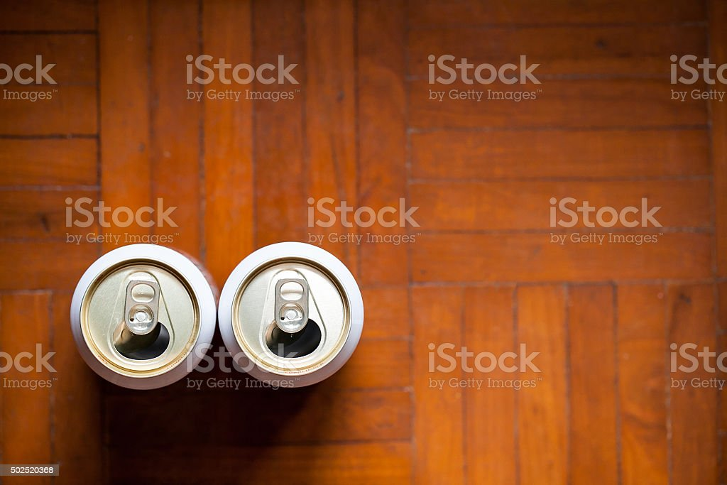 open drink can stock photo