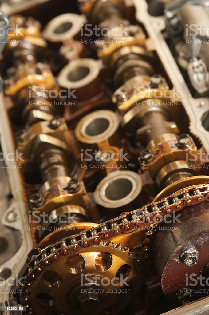 Open Engine - Shallow DOF stock photo