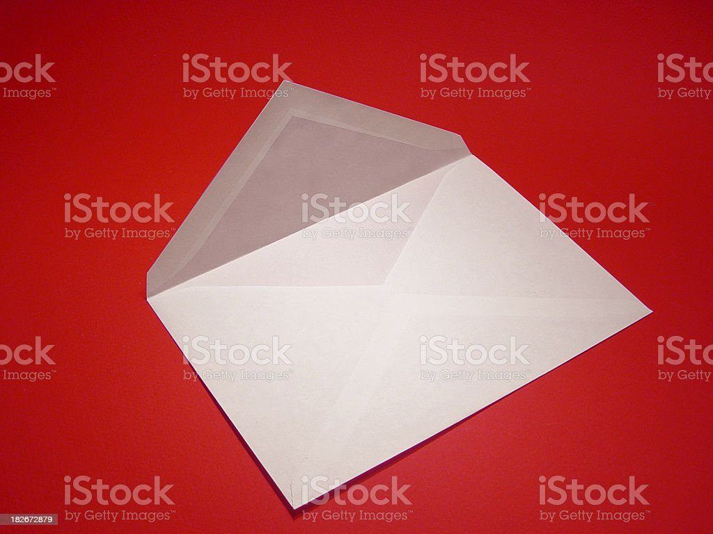 open envelope royalty-free stock photo