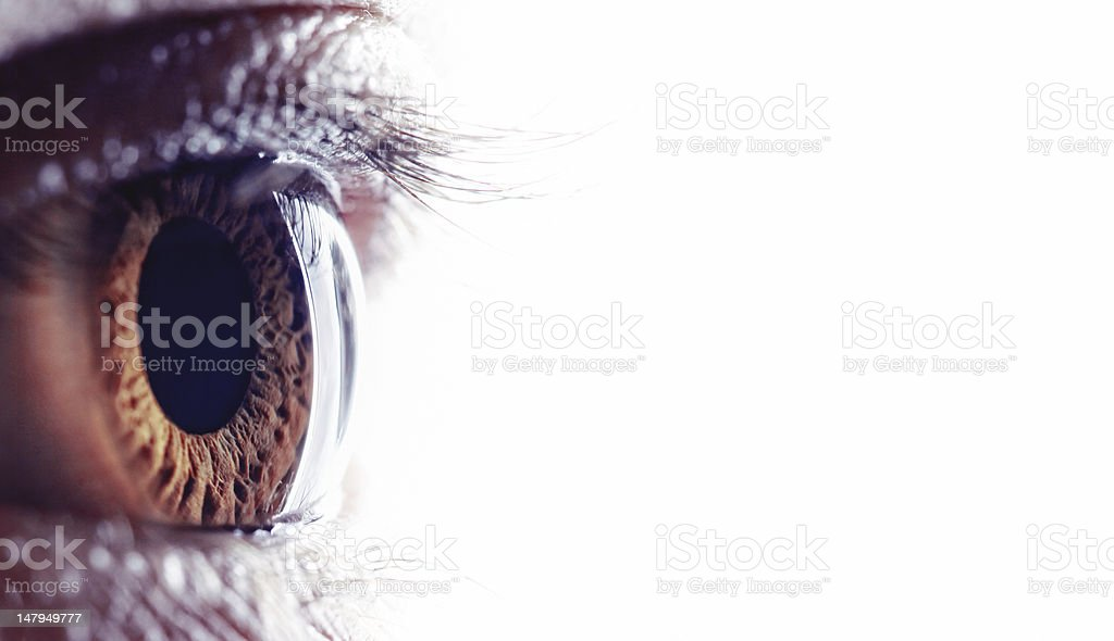 open eye royalty-free stock photo