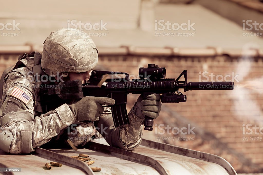 Open Fire stock photo
