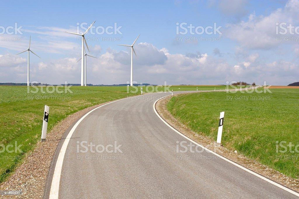 Open freeway royalty-free stock photo