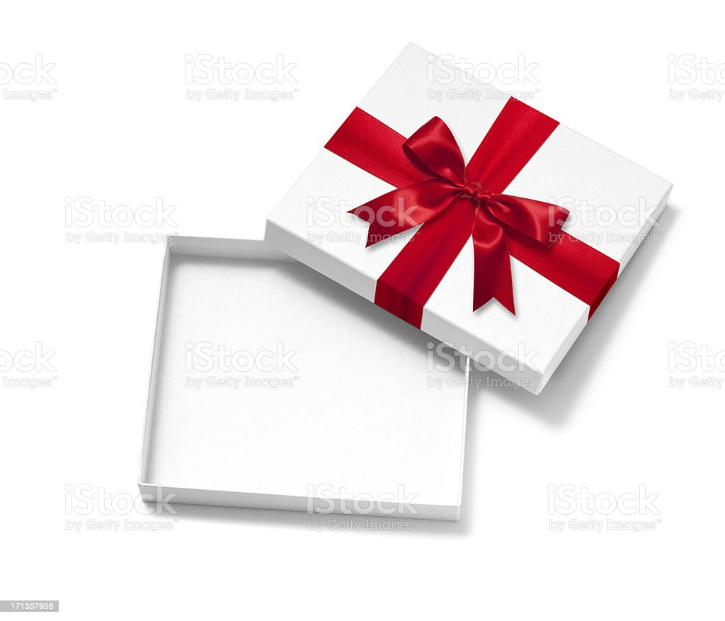 Open Gift Box stock photo