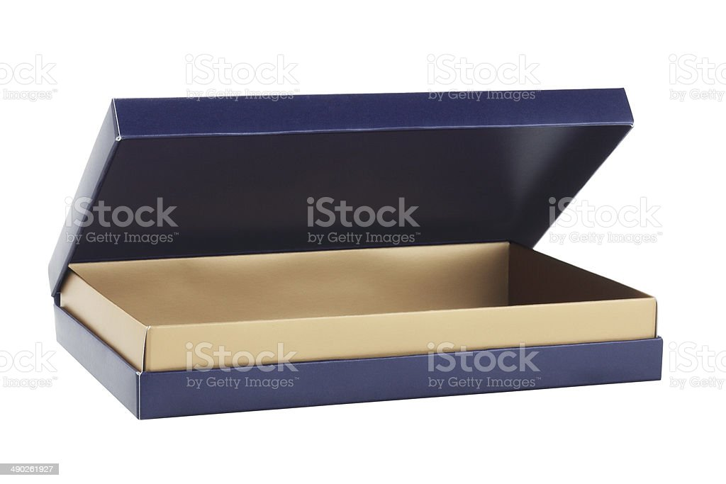 Open Gift Box royalty-free stock photo