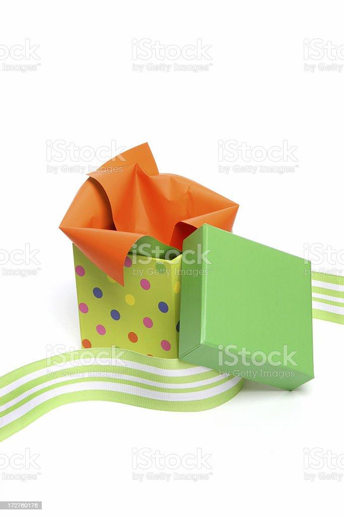 Open Gift stock photo