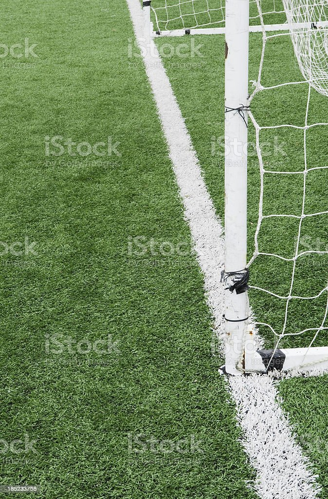 Open goal royalty-free stock photo