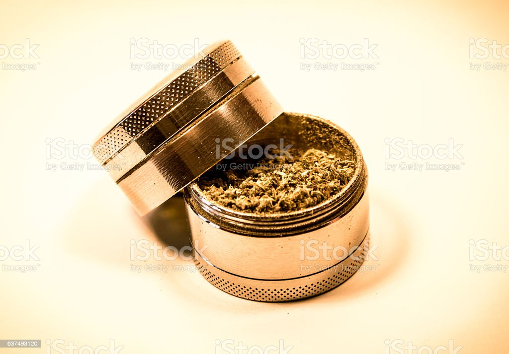 Open Grinder stock photo