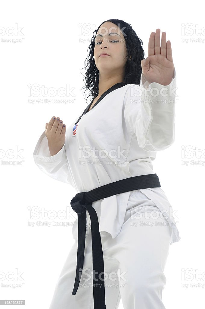 Open hand execution royalty-free stock photo