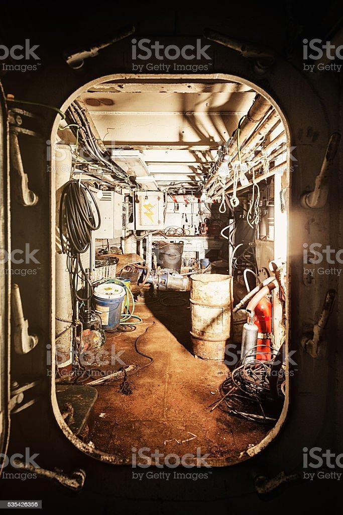 Open Hatch stock photo