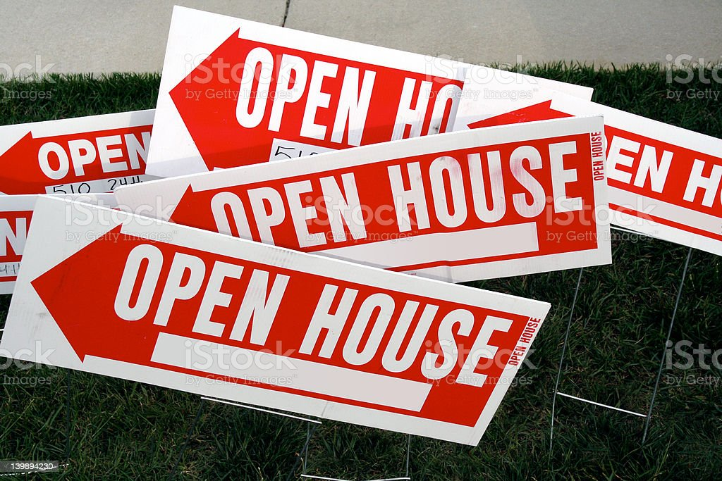 Open House 2 royalty-free stock photo