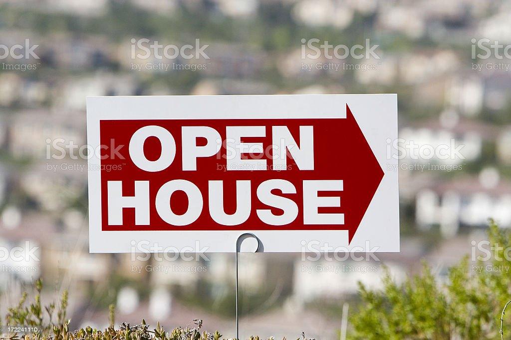 open house #1 stock photo