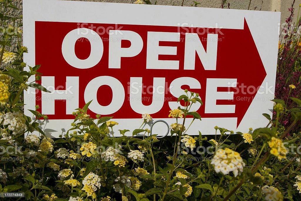 open house stock photo