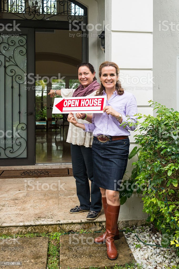 Open House stock photo