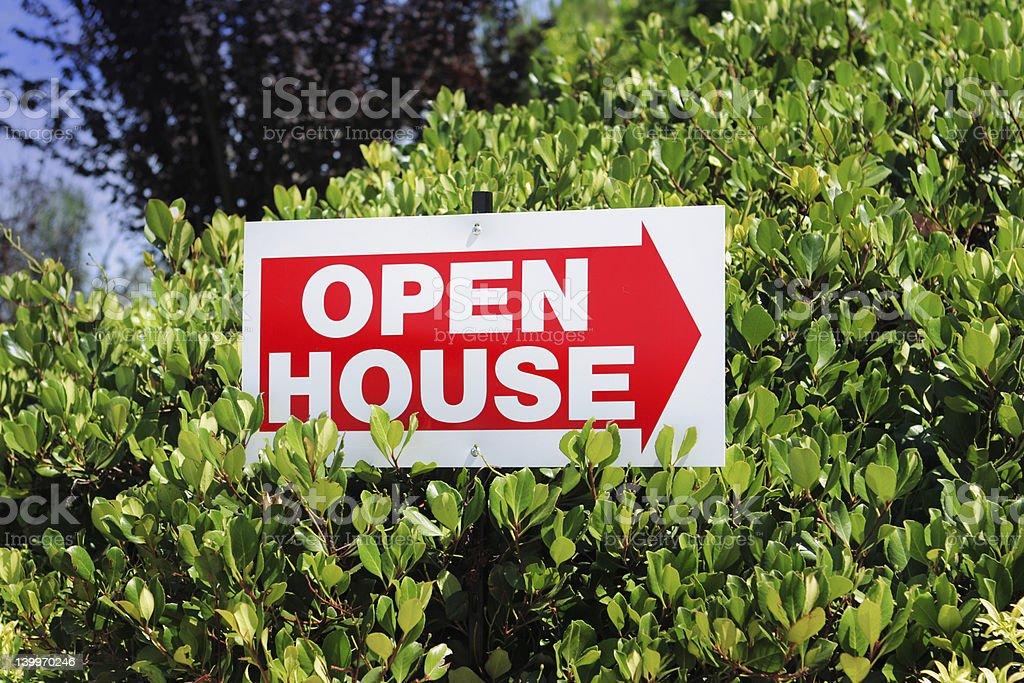 open house de photo libre de droits
