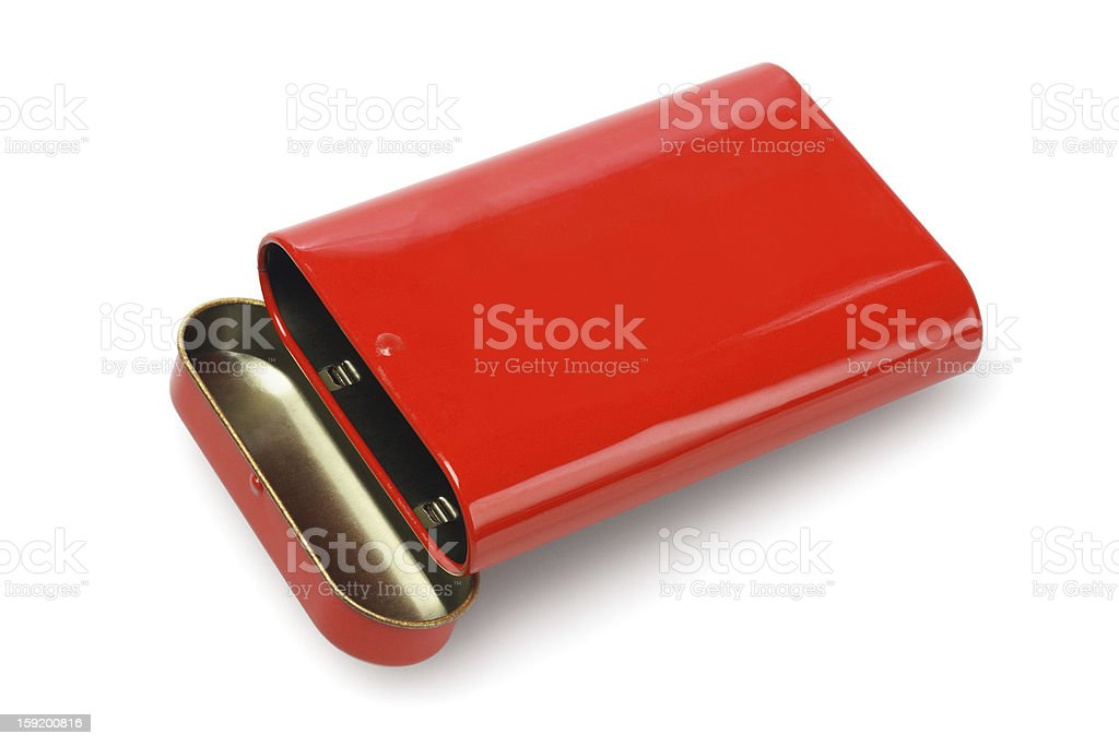 Open Metal Container royalty-free stock photo