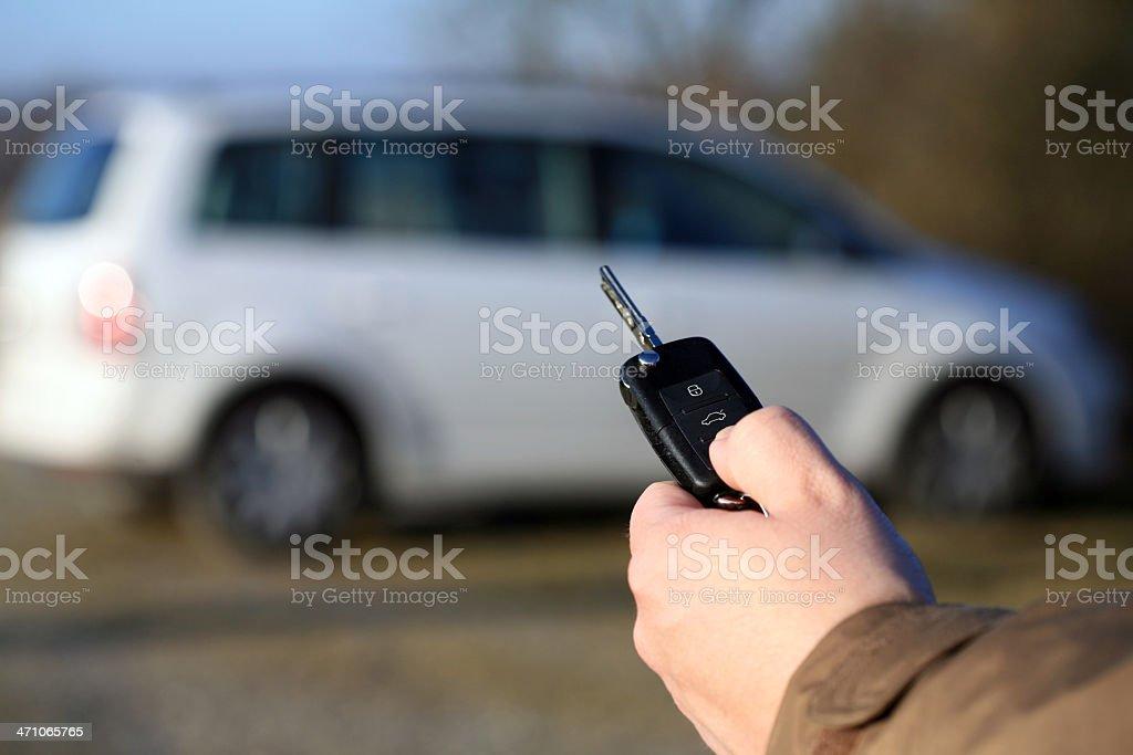 Open my car royalty-free stock photo